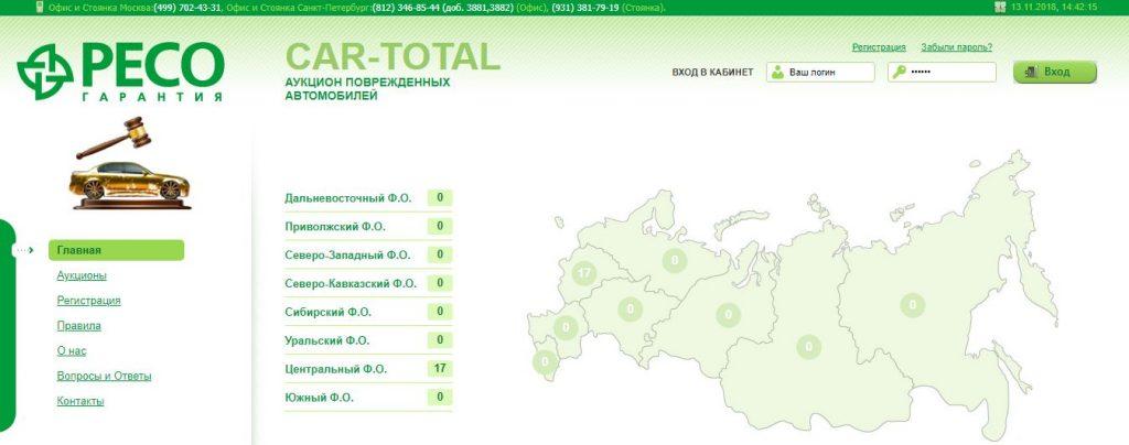 Отзывы об аукционе КАР ТОТАЛ в Санкт-Петербурге
